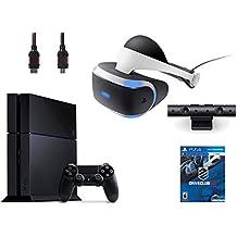PlayStation VR Bundle 4 Items:VR Headset,Playstation Camera,PlayStation 4,VR Game Disc:PSVR DriveClub(Version US, Importée)