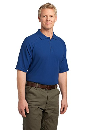 Eckpfeiler EZCotton Tactical Polo Shirt Blau - Königsblau