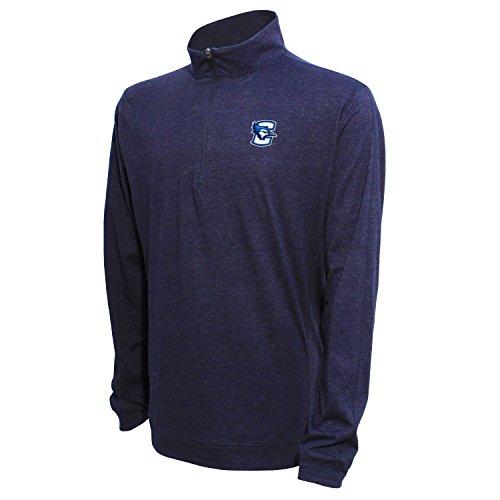 1/4Zip Pullover, herren, 1/4 Zip Pullover, Heather Blue, XX-Large