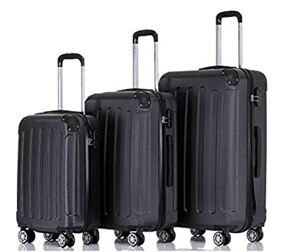 BEIBYE Hartschalen-Koffer Trolley Rollkoffer