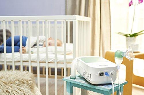 Omron DuoBaby Kompressor Inhalationsgerät mit Nasensauger - 4