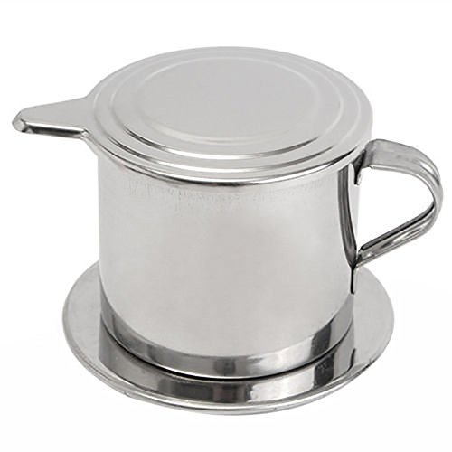 41eIn9UGMtL. SS500  - ONEVER Stainless Steel Coffee Dripper Cafe Latte Filter Cup Espresso Coffee Drip Maker (Coffee Drip Filter)