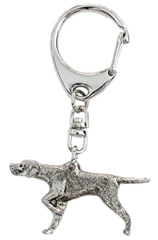Pointer Anglais Made in UK, Collection Porte-clés Artistique Style