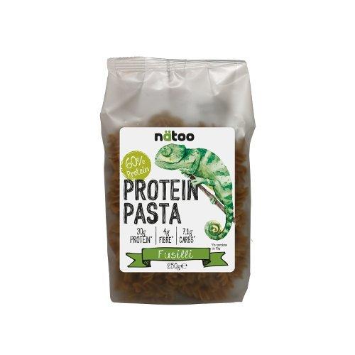 Protein pasta natoo fusilli 250g 60% proteine