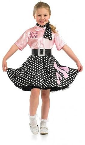 Rock N Roll Girl - Costume de déguisement pour enfants