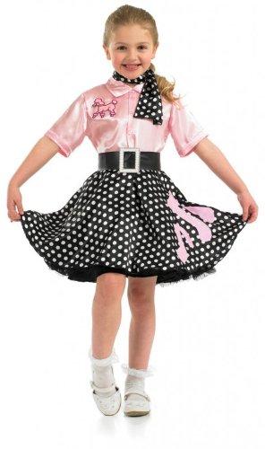 Rock N Roll Girl - Costume Child - Grandi - 136 centimetri