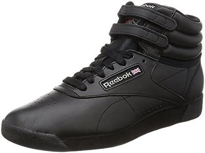 Reebok Freestyle Hi - Zapatillas de cuero para mujer