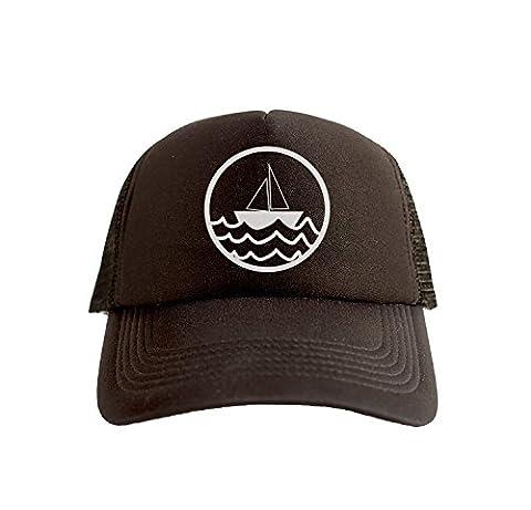Sea Captain Hat - Boat Sea Captain Hip Hop Print Trucker