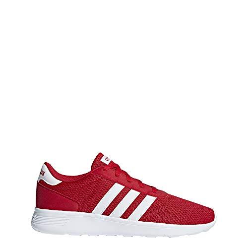 adidas Herren Lite Racer Fitnessschuhe, Rot (Escarl/Ftwbla/Escarl 000), 46 EU