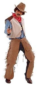César - Disfraz de vaquero (cowboy) para hombre (adulto), talla 50/52 cm