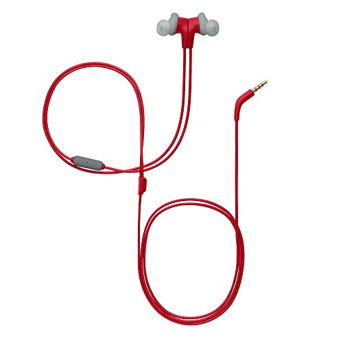 JBL Endurance Run Sweat-Proof Sports in-Ear Headphones with One-Button Remote and Microphone (Pink) Image 5