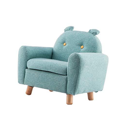 Canapés Canapé Pour Enfant Petit Accoudoir Garçon Simple Petit Canapé Adapté Pour Intérieur Vert Paresseux Chaise Siège Arrière (Color : Green, Size : 23.6 * 16.5 * 22.8in)