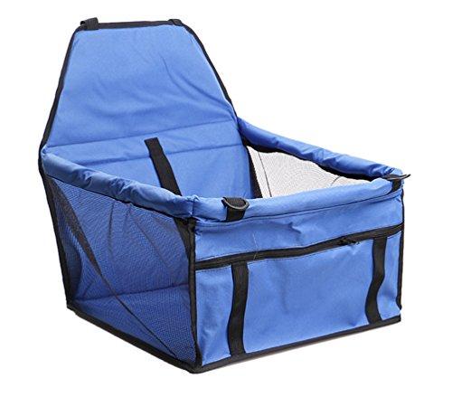 Yiiquan Cane Auto Amaca Coprisedile Impermeabile Coperta per Sedile Dietro Automobile Blu 40 * 30 * 25 CM