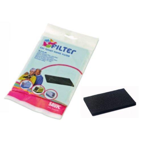 Preisvergleich Produktbild Kohle Umluft Nestorpapageien/Sphinx-Ersatzfilter Aktivkohle für Katzenstreu, geeignet für alle Modelle von Toilette Savic