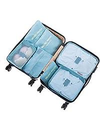 c140014e2a eyepower 4 Organizer per Valigie S-XL set di sacche di tela rettangolari  Grigio · EUR 12,99 Prime. Leoyee Cofanetto per zaino da viaggio in valigia,  ...
