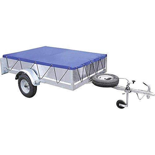 Anhänger-Flachplane mit Gummigurt 2075x1140x50mm