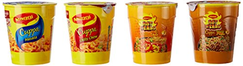 Maggi Cuppa Assorted Pack, 70g (Pack of 4)