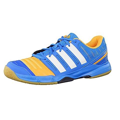 Adidas Handball Court Stabil 11 Solblu/cwhite/sogold, Größe Adidas:5.5