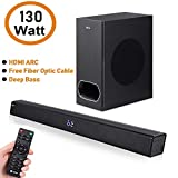 Zoook Rocker Studio One 130 watts Wireless Bluetooth SoundBar with Subwoofer, HDMi Arc