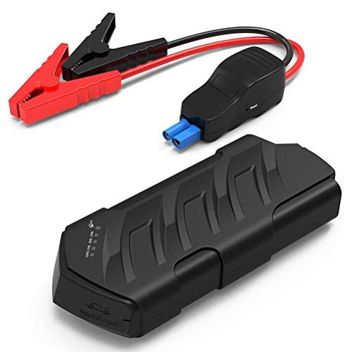 Car Jump Starter -pic actuel 500A lithium de capacité élevée Batterie, 12V voiture batterie de démarrage avec lampe de poche LED, démarrage d'urgence voiture Power Pack