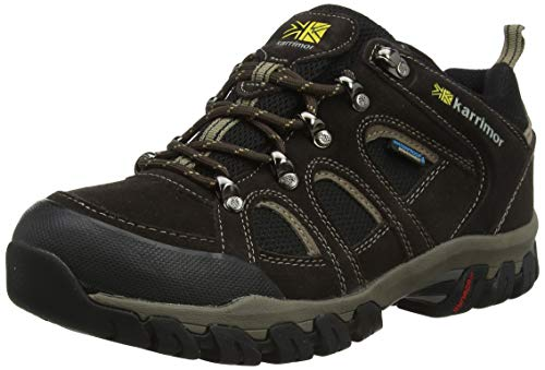 Karrimor Herren Bodmin Low IV Weathertite Uk 6H Trekking-& Wanderhalbschuhe, Braun (Dark Brown), 40 EU