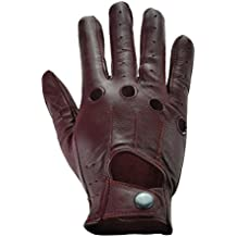 Rawhide Leather Classic Knuckle Driving,Real Top Quality Leather Classic Driving Gloves