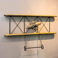 Retro Style Industrial Creative Wall Hanging Rack/Stand, Aircraft Model Wall Display Rack, Coffee Shop Bar Wall Hanging Rack/Stand, MTX Ltd