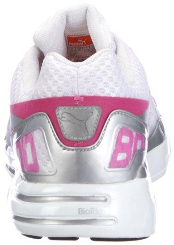 Puma Faas 800 Wn's 185779, Scarpe da corsa donna Rosa (Pink (raspberry rose-white-puma silver 01))