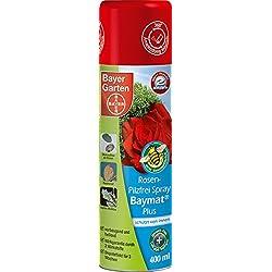Bayer Garten Rosen Spray Baymat Plus Pilzbekämpfung, Farblos, 400 ml