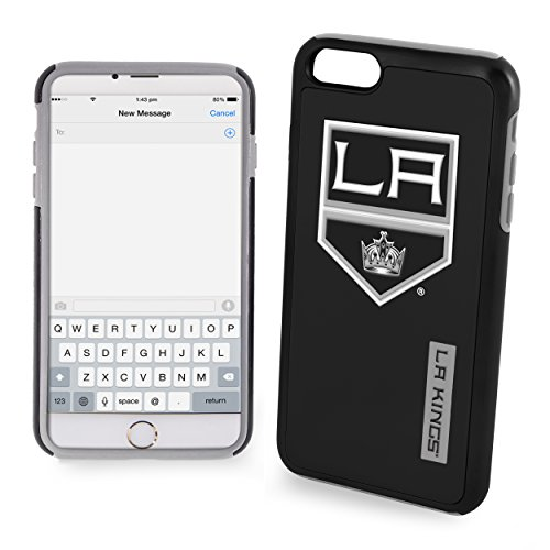 Forever Collectibles NHL Los Angeles Kings iPhone 7 coverlos/6 6S Dual Hybrid Cover, 11,9 cm Nhl-logo Iphone
