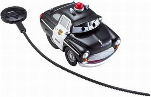 Disney Cars Rip Stick Racers Sheriff Police Car Rippin Wheelie Action by Disney