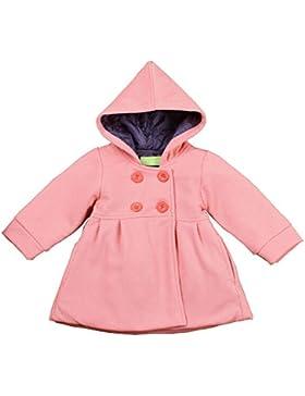 MissChild Baby Mädchen Wintermantel mit Kapuze Winter Herbst Jacken Warm Anorak Mantel Langarm Steppjacke Oberbekleidung