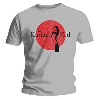 Bravado Mens Karate Kid - Silhouette - Grey - Mens t-shirt Small Grey 20624000AP Small