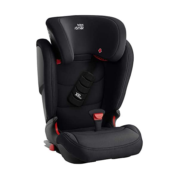Britax Römer car seat 15-36 kg, KIDFIX Z-LINE Isofix Group 2/3, Cosmos Black Britax Römer Made in germany Outstanding security concept - xp-pad and secureguard Ideal inside dimensions and seat - for extra comfort and excellent ergonomics 3