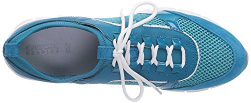 Geox D SUKIE B Damen Sneakers Blau (TURQUOISEC4015)
