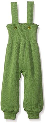 Disana 33109XX - Strick-Trägerhose Wolle grün, Size / Größe:62/68 (3-6 Monate)