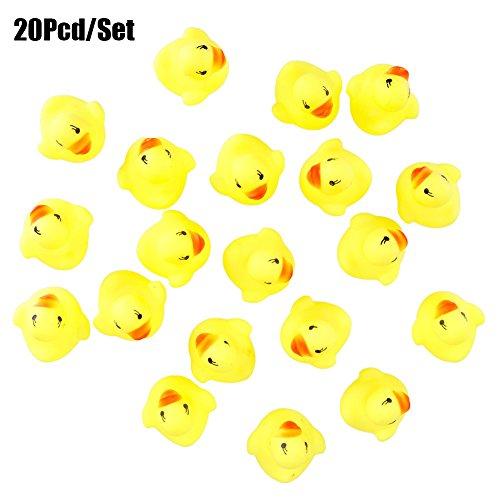 ucky Duckie Babyparty Geburtstag Party Toys Gastgeschenken 20pcs (Gummi Ente Kostüm)