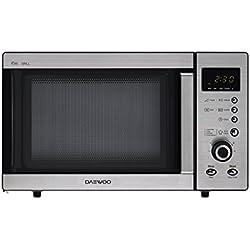 Daewoo KOG-A8B5R Micro-ondes avec grill en acier inoxydable 23 l