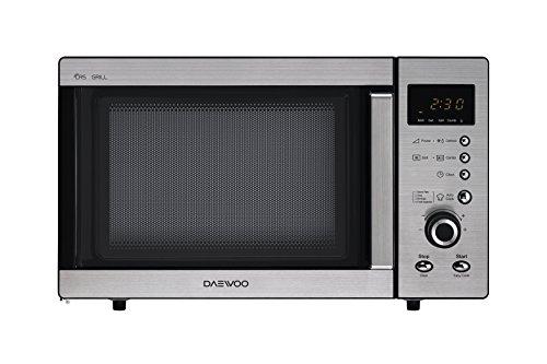 Daewoo KOG-A8B5R Microondas, 23 litros, con grill, inoxidable