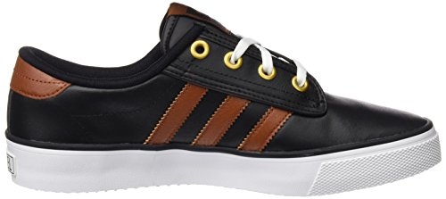 adidas Kiel, Chaussures de Skate Mixte Adulte Noir (Core Black/St Redwood/Ftwr White)