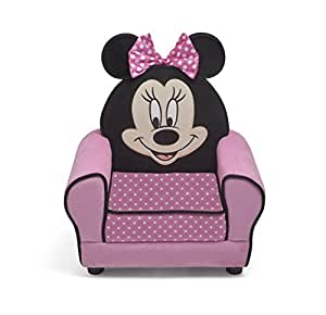 Delta Children Minnie Mouse le Vrai Fauteuil Châssis en Bois