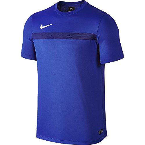 Nike Herren Academy Knit SS TRAINING, Herren S Azul / Blanco (Game Royal/Deep Royal Blue/White) (Short Nike Dri-fit Game)