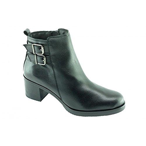 Braderie - Bottines Femme Noir - Kristen - Angelina ® C-Noir