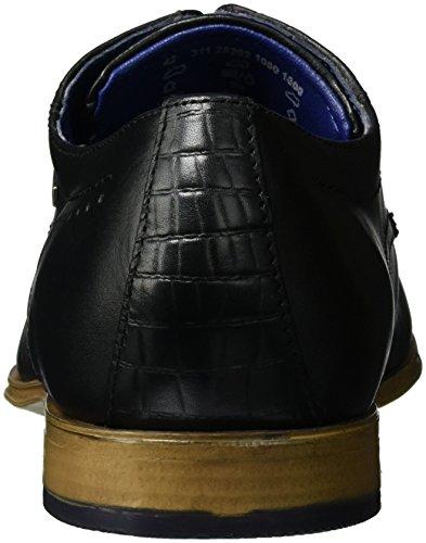 Bugatti 311252021000, Derby Homme Noir (Schwarz 1000)
