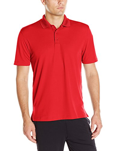 Under Armour Performance Polo-Shirt für Herren Rot/Rot