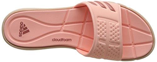 adidas Adipure Cf W, Tongs Femme Rouge (Corneb/oxmete/lino)