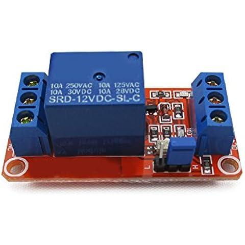 1 moduli relè con optoaccoppiata supporto di isolamento di alto