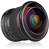 Meike 8 mm f/3.5 Grand Angle objectif fisheye travail pour Canon DSLR appareils photo avec/Full Frame APS-C