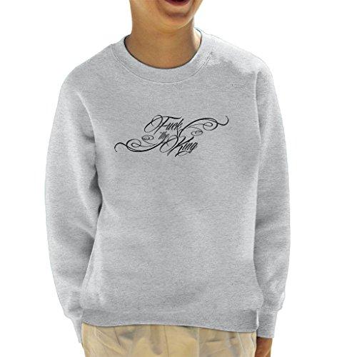 Game Of Thrones The Hound Fuck The King Kid's Sweatshirt (Sweatshirt Kinder Hound)