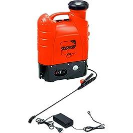 Stocker – Pompa a Spalla 15 Lt elettrica